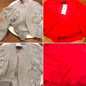 Sweaters - 🔥 2 Bolero sweaters 1 price